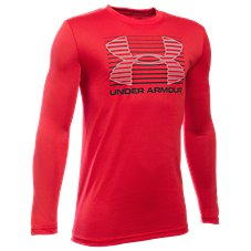 Under Armour Breakthrough Logo Long-Sleeve T-Shirt for Kids
