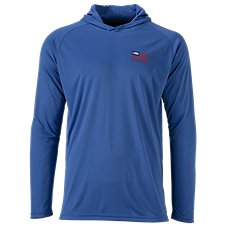 AFTCO Spangled Hooded Sun Shirt for Men