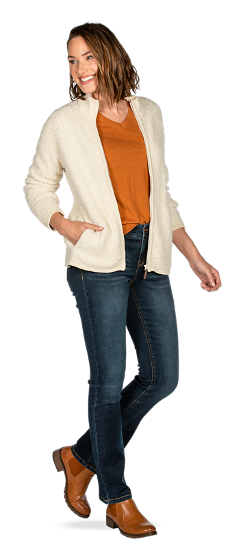 Get the Sherpa Sweater Look