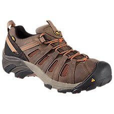 Keen Flint Low Steel Toe Work Shoes for Men