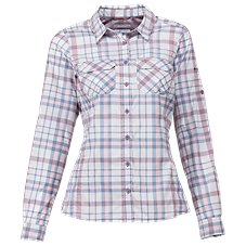 Columbia Saturday Trail Plaid Long-Sleeve Shirt for Ladies