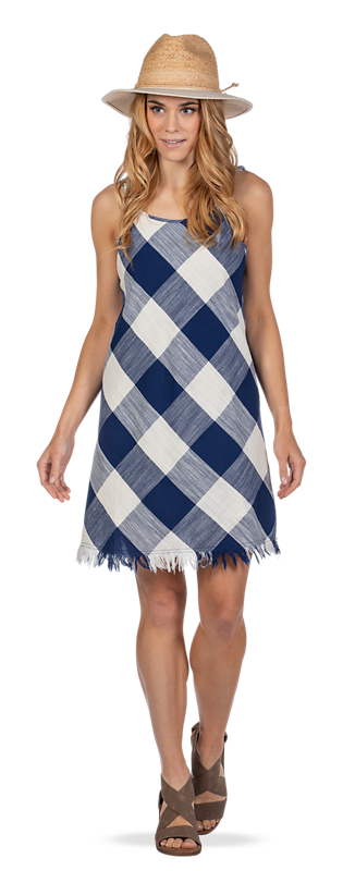Get the Plaid Dress Look