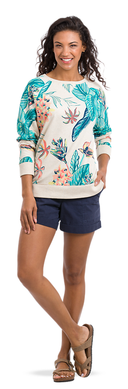 Get the Tropical Print Look