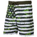 RedHead Camo Stars and Stripes Swim Shorts for Men