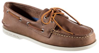 Sperry A/O 2-Eye Perfed Boat Shoes for Men  by