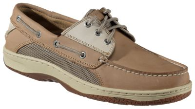 Sperry Billfish 3-Eye Boat Shoes for Men - Tan/Beige  by