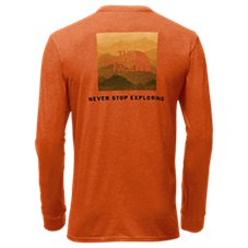 The North Face Red Box Long-Sleeve T-Shirt for Men