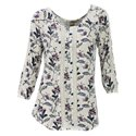 Bob Timberlake Travelling Floral Print Top for Ladies