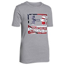 Under Armour Big Flag Logo T-Shirt for Kids
