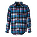 Bass Pro Shops Plaid Flannel Shirt for Girls