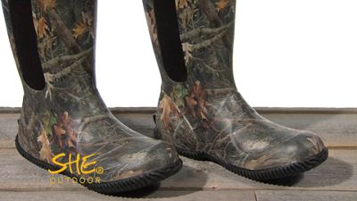 d551bc558cf SHE Outdoor Avila High Rubber Hunting Boots for Ladies