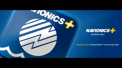 Navionics+ Electronic Marine Charts and Freshest Data Updates for  Chartplotters