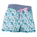 Natural Reflections Floral Print Boxer Shorts for Ladies