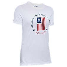 Under Armour Freedom Flag T-Shirt for Ladies