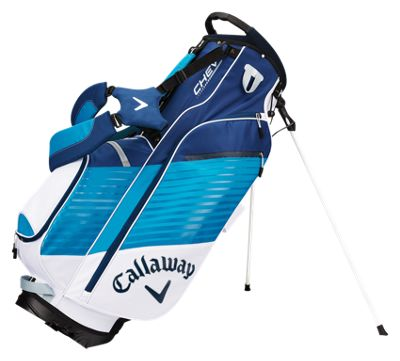 Callaway 64960 Chev Stand Golf Bag - White Teal & Navy